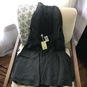 NWT LF Open Back Swing dress